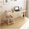 Desk with Side Shelf